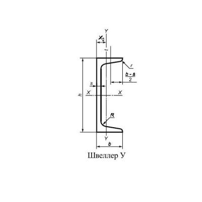 Швеллер 6.5у ст.3 l=12м ГОСТ 8240-97 купить в Казани по низкой цене